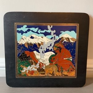 Other - The legend of Volcanoes Mexican Tale Inlay Picture